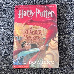 Harry Potter paperback book